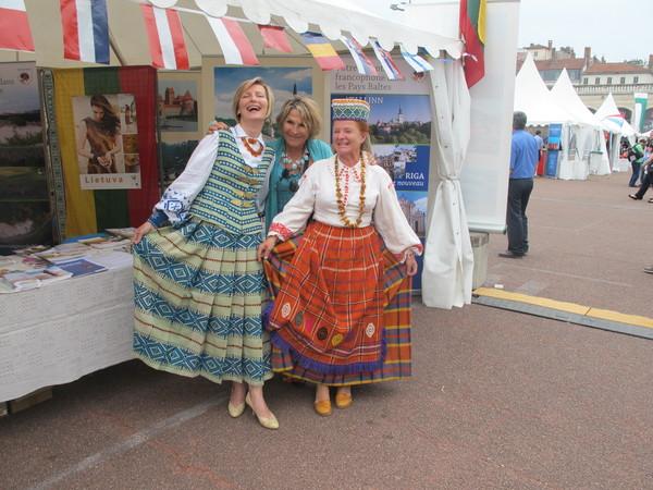 Représentant de «Taïga Euro Baltika» à Fêtes Consulaires